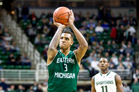 NCAA Basketball - Eastern Michigan at Michigan State