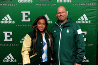 EMU Lettermen Ceremony - Oct. 11, 2014